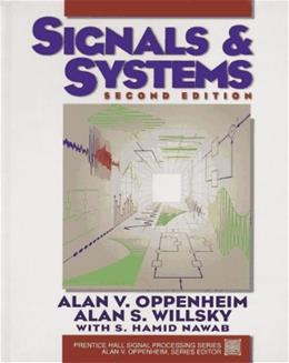 Signals and Systems (2nd Edition) 9780138147570