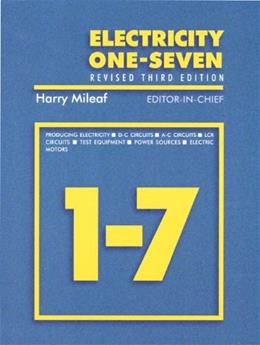 Electricity One - Seven, by Mileaf, 3rd Edition 9780139178573
