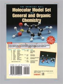 Prentice Hall Molecular Model Set for General and Organic Chemistry, by Prentice Hall, Boxed Package PKG 9780139554445