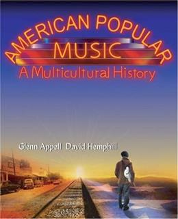 American Popular Music: A Multicultural History 1 9780155062290
