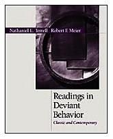 Readings in Deviant Behavior: Classic and Contemporary, by Terrell 9780155064386