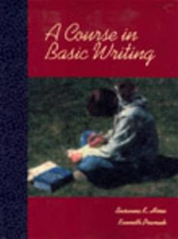 Course in Basic Writing, by Horn 9780155065406