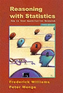 Reasoning With Statistics: How To Read Quantitative Research, by Williams, 5th Edition 9780155068155