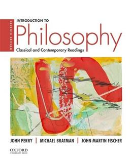 Introduction to Philosophy: Classical and Contemporary Readings 7 9780190200237
