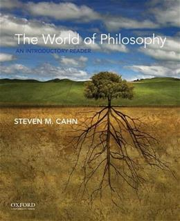 The World of Philosophy: An Introductory Reader 1 9780190233396