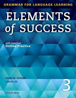 Elements of Success 3, by Ediger PKG 9780194028264