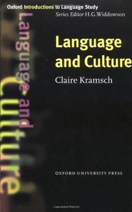 Language and Culture, by Kramsch 9780194372145