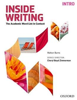 Inside Writing Intro Student Book, by Burns 9780194601061