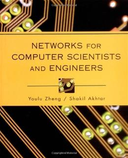 Networks for Computer Scientists and Engineers, by Zheng 9780195113983