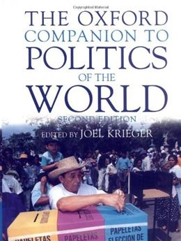 Oxford Companion to Politics of the World, by Krieger, 2nd Edition 9780195117394