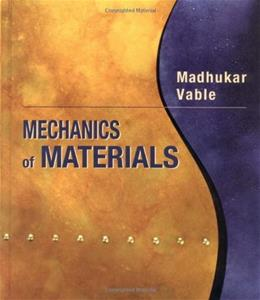 Mechanics of Materials, by Vable 9780195133370