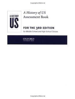 History of US: Assesment Books 1-10: 3 9780195153484