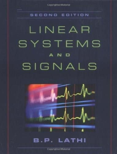 Linear Systems and Signals, 2nd Edition 9780195158335