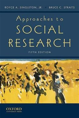 Approaches to Social Research 5 9780195372984