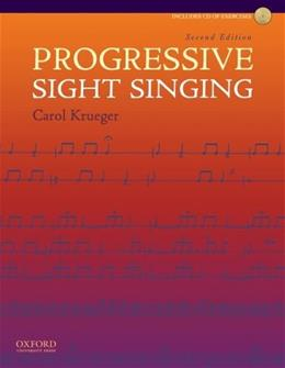 Progressive Sight Singing 2 w/CD 9780195386042