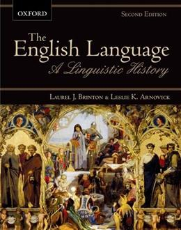 English Language: A Linguistic History, by Brinton, 2nd Edition 9780195431575