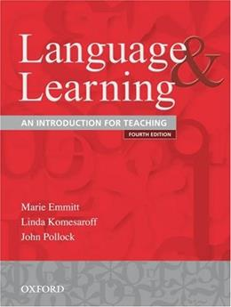 Language and Learning: An Introduction for Teaching 4 9780195551259