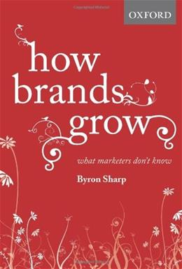 How Brands Grow, by Sharp 9780195573565