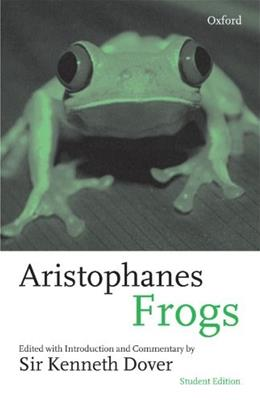 Frogs, by Aristophanes 9780198150718