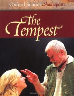 Tempest, by Shakespeare 9780198321514