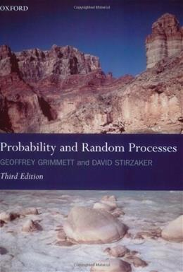 Probability and Random Processes, by Grimmett, 3rd Edition 9780198572220