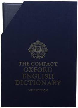Compact Oxford English Dictionary, by Simpson, 2nd Edition 2 PKG 9780198612582