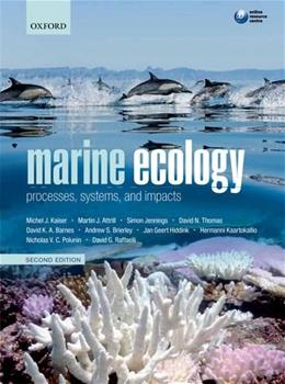 Marine Ecology: Processes, Systems, and Impacts, by Kaiser, 2nd Edition 9780199227020