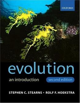 Evolution, by Stearns, 2nd Edition 9780199255634
