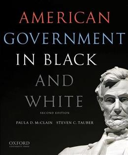 American Government in Black and White 2 9780199325467