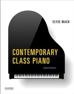 Contemporary Class Piano, by Elyse, 8th Edition 8 w/CD 9780199326204