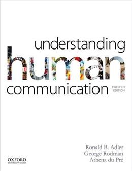 Understanding Human Communication 12 9780199334322