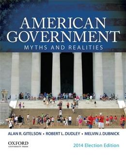American Government: Myths and Realities 11 9780199374229