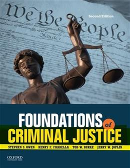Foundations of Criminal Justice 2 9780199374335