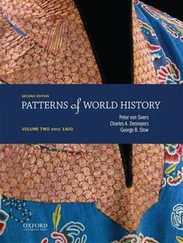Patterns of World History: Volume Two: Since 1400 2nd edition 9780199399635
