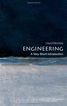 Engineering: A Very Short Introduction, by Blockey 9780199578696