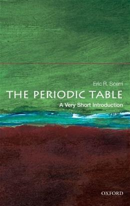 Vsi Science and Psychology Periodic Table, by Scerri 9780199582495