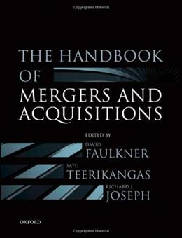 Handbook of Mergers and Acquisitions, by Faulkner 9780199601462