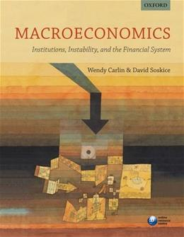 Macroeconomics: Institutions, Instability, and the Financial System 1 9780199655793