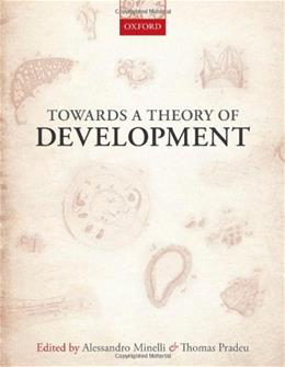 Towards a Theory of Development, by Minelli 9780199671434