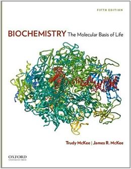 Biochemistry: The Molecular Basis of Life 5 9780199730841