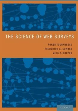 Science of Web Surveys, by Tourangeau 9780199747047