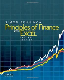 Principles of Finance with Excel 2 w/CD 9780199755479