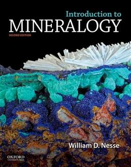 Introduction to Mineralogy 2 9780199827381
