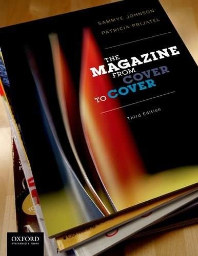 Magazine from Cover to Cover, by Johnson, 3rd Edition 9780199829842