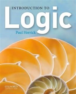 Introduction to Logic 1 9780199890491