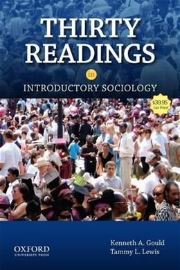 30 Readings in Introductory Sociology, by Gould 9780199934928