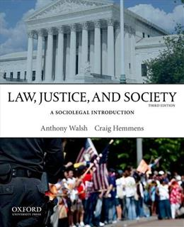 Law, Justice, and Society: A Sociolegal Introduction 3 9780199958535