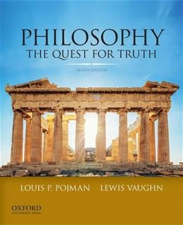 Philosophy: The Quest For Truth 9 9780199981083
