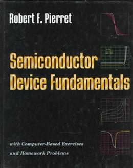 Semiconductor Device Fundamentals 2nd 9780201543933