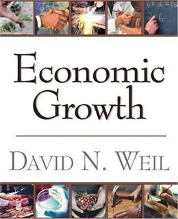 Economic Growth, by Weil 9780201680263